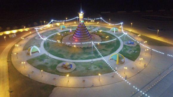 مدينة فيد بمنطقة حائل