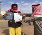 قامت جمعية البر الخيرية بمدينة فيد بتنفيذ حملة بعنوان ( اخوة لنا ساعدوهم )