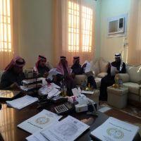 اجتماع الجمعية العمومية لجمعية البر الخيرية بمدينة فيد